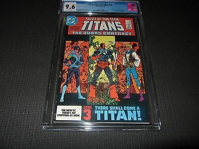 Tales of the Teen Titans 44 CGC 9.6 NM+, 1st App. of Nightwing (DC 1984)