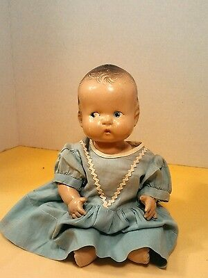 vintage Effanbee Composition Baby Doll,