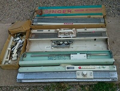 Vintage Knitting Machine Parts and Accessories Singer and Empisal Bendigo