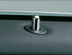 BMW Chrome Door Lock Pins E36 Coupe 2 Door E46 E39 Z3 Z4