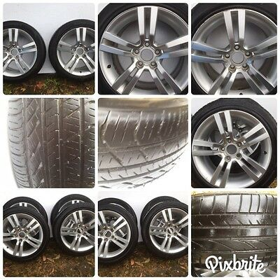 4 X Holden VE SV6 SS SSV OMEGA 18 Inch Alloy Rims With Roadworthy Tyres