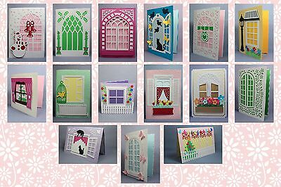 Brother ScanNCut Window card & insert templates CD1059