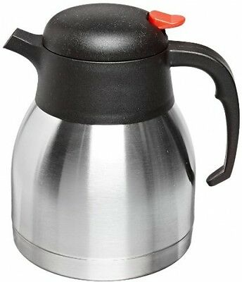 Commercial Server Stainless Steel Vacuum Insulated Thermal Coffee Carafe Pot