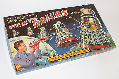 vintage very rare dr who dodge the daleks board game Codeg complete excellent