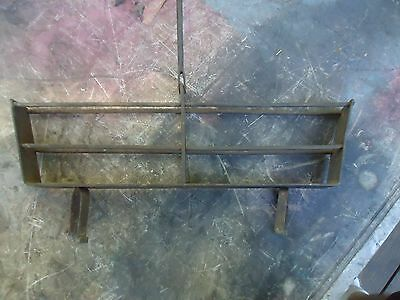 Antique Fireplace Toaster,cast Iron,blacksmith Forged,prepper