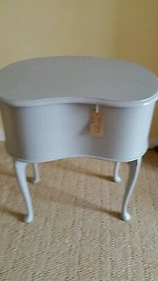 Mid Century 1950s/60s Sewing/Craft Box Vintage  Storage Table