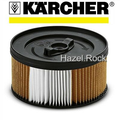 Genuine KARCHER NANO-COATED CARTRIDGE FILTER for WD4 WD5 WET DRY VACUUM CLEANER
