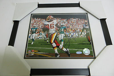 Clinton Portis Washington Touchdown Signed Framed 8x10 Photo with Steiner COA