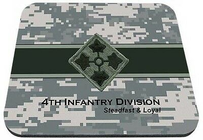US Army 4th Infantry Division Steadfast & Loyal Mouse Pad