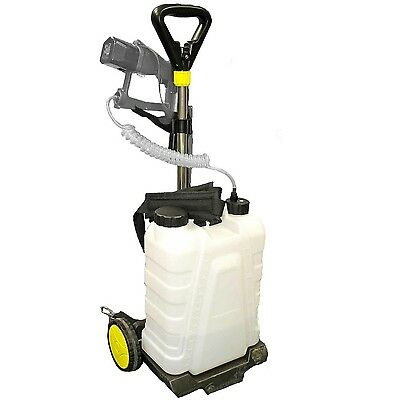 Ecojet 00214. Trolley and Backpack Tank 16L