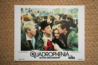 QUADROPHENIA Vintage PHIL DANIELS Lobby Card THE WHO 60s MODS LAMBRETTA VESPA