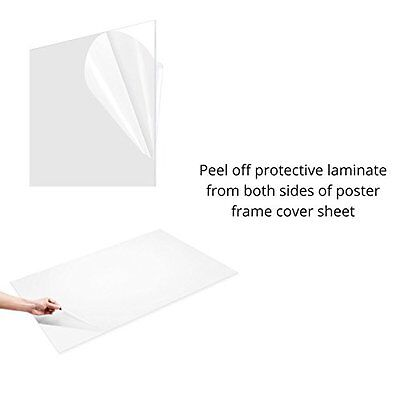 """(12 Pack) PETG CLEAR PLASTIC SHEET 0.020"""" X 6"""" X 6"""" VACUUM FORMING RC BODY HOBBY"""