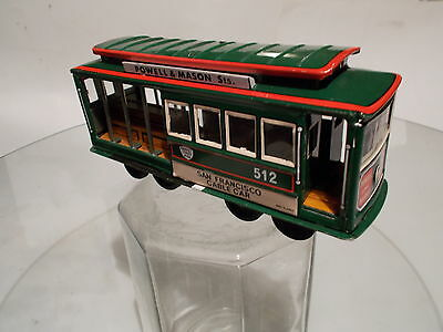 """Cable Car"" Made in Japan, 70er Jahre, Blech"