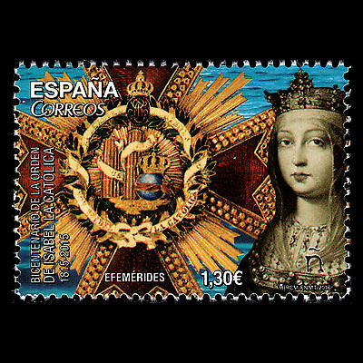 Spain 2016 - 200th Anniv the Order of Isabella the Catholic - MNH
