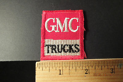 """Vintage GMC Trucks Patch  Iron-On Embroidered Patch, 2.5""""x2"""""""