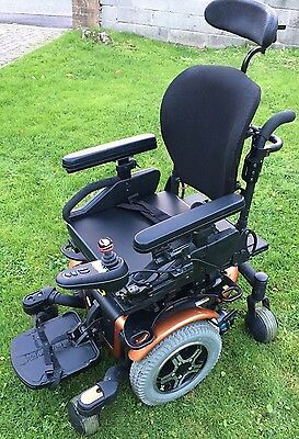 PRIDE QUANTUM 600 REHAB,4mph ELECTRIC MOBILITY POWERCHAIR WHEELCHAIR SCOOTER