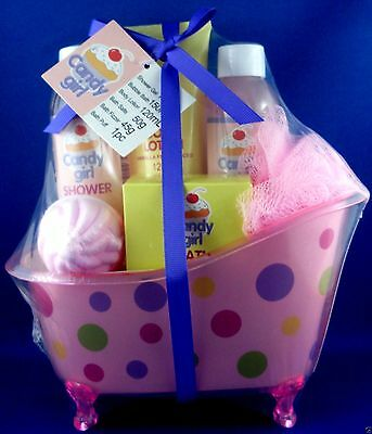 CANDY GIRL Bath/Shower Body Set FUN GIFT PACK Brand New & SEALED Bathroom Set