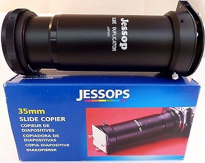 Jessops 35mm Slide Copier With FD Mount Inc Boxed with Instructions