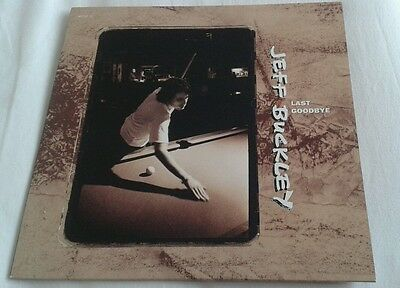 """Jeff Buckley - Last Goodbye rare limited numbered 10"""" single mint condition"""