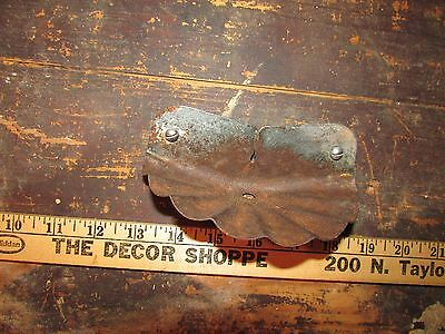 Vintage Scalloped soap dish wall holder antique