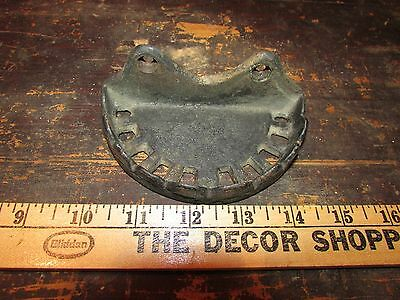 antique Cast iron Soap dish wall mounted holder tray