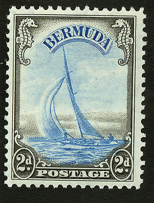 Bermuda  1936-40  Scott #109  Mint Lightly Hinged