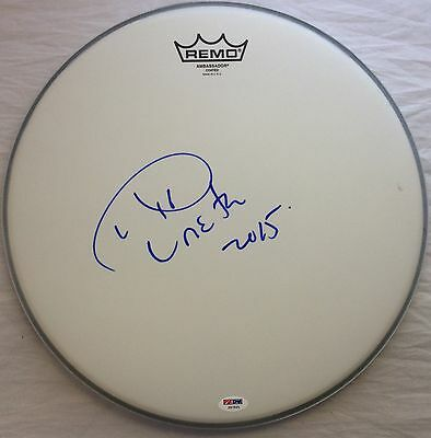 """Aretha Franklin Signed Remo 14"""" Remo DRUMHEAD PSA/DNA Autographed COA Respect"""