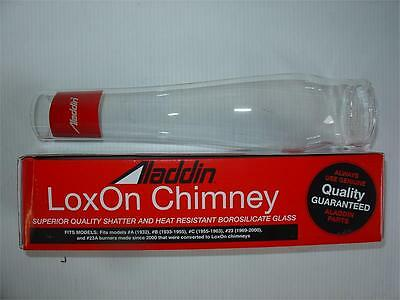 New In Box Aladdin Kerosene Mantle Lamp Company Lox On Chimney # R103 Glass Lamp