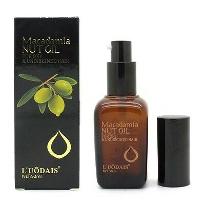 Hair & Scalp Treatment 100% Pure Moroccan Argan Oil Macadamia Nut Oil