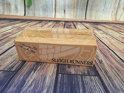 Longaberger Wrought Iron Santa's Helper Sleigh Runner NIB # 71722