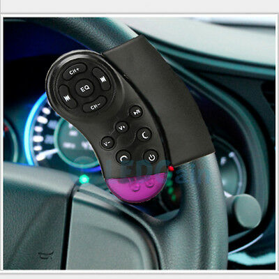 Car Universal Steering Wheel Remote Control for GPS CD VCD DVD TV MP3 Player New