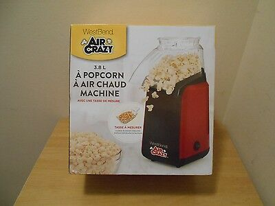 New Westbend Air Crazy Popcorn Popper Machine Hot Movie Night Family Kids