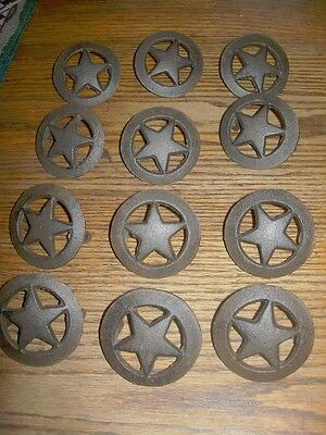 Large Star  Drawer Pull (Set Of 10)  Cast Iron Cabinets, Drawers  Western Decor