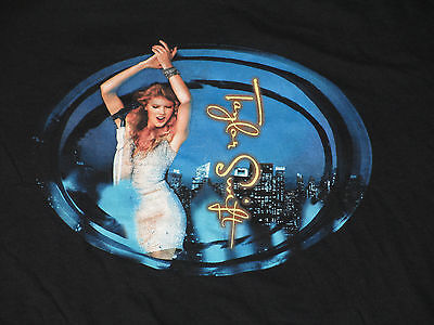 Taylor Swift 2011 Speak Now World Tour Concert T Shirt Black -M