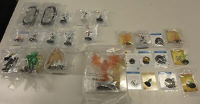 Heroclix Op Le Figures and Items Lot 1 of ( 26 ) Items Never Played