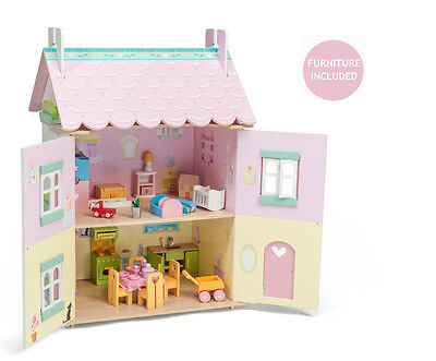 Dolls House - Le Toy Van - Sweetheart Cottage with Furniture