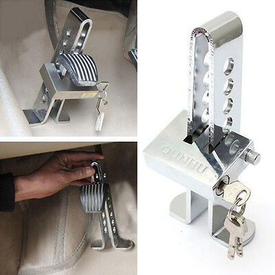 Car Anti-theft Device Clutch Stainless Steel Brake Security Driving Safety Lock