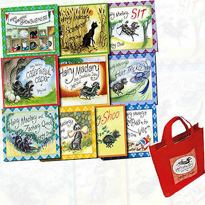 Hairy Maclary Collection - 10 Book Set in a Bag - Lynley Dood - New