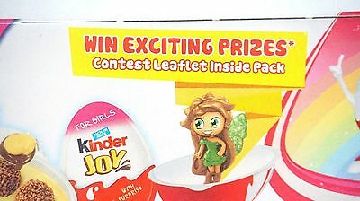 BOX OF 8 New Kinder Joy with Surprise Eggs in Toy & Chocolate For Boys & GIRLS