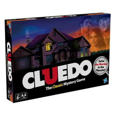 Cluedo The Original Classic Mystery Family Board Game from Hasbro Gaming 38712