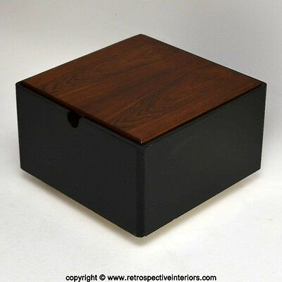 RETRO ROSEWOOD SIDE / COFFEE TABLE / STORAGE BOX VINTAGE 1960's