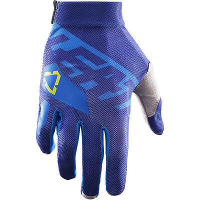 NEW Leatt 2017 Mx Gear GPX 2.5 X-Flow Blue Lime Dirt Bike Adult Motocross Gloves