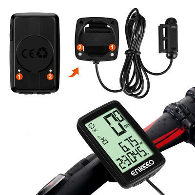 Wireless Solar Panel Backlit Cycling Bike Bicycle Computer Speedometer Odometer