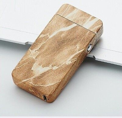 New USB Rechargeable Electric LIGHTER Double ARC PULSE Flameless By GEMX