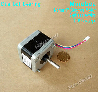 Nema17 Stepper Motor 2-Phase 4-wire for Pulley Reprap Makerbot Prusa 3D printer