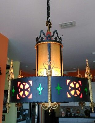 Antique Gothic Chandelier from Our Lady of Lourdes Church in New York