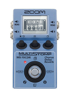 ZOOM MS70 CDR MultiStomp - Pedale Multieffetto Chorus, Delay, Reverb
