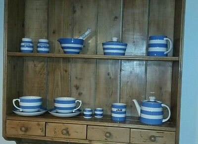 TG Green Cornish Blue pottery collection