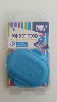 Baby wipes lid reusable wet paper cover wipes dispenser one by one 2 in pack