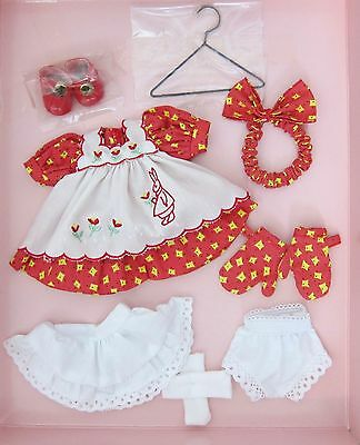 Vogue Ginny Doll Outfit~MOMMY'S LITTLE HELPER CLOTHING PACK~RED DRESS,SHOES~MIB